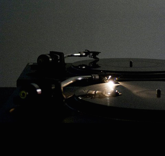 turntables in low light